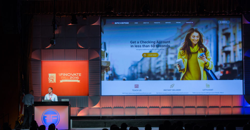 Backbase wins 'Best of Show' at Finovate Fall 2016